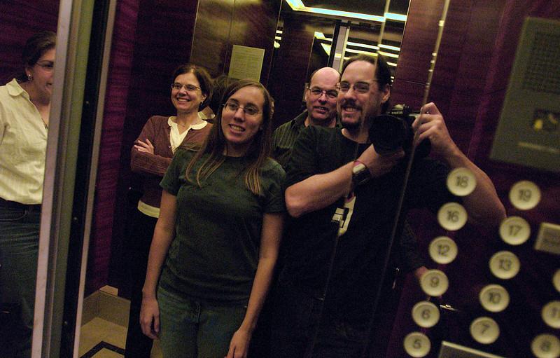 China, Beijing, The Regent Beijing, Elevator Pictures
