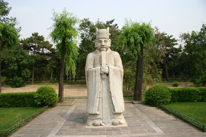 beijing sacred way ming tombs