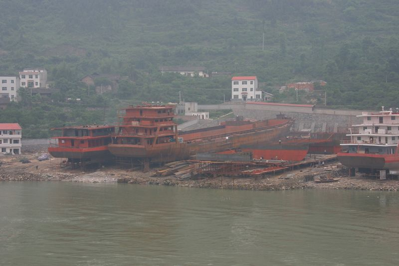 Yangtze River cruising