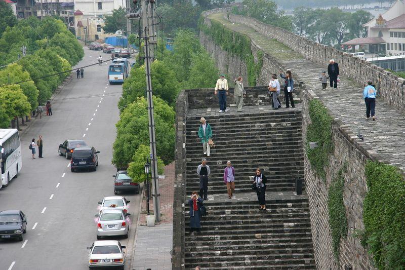 Nanjing 14th century wall