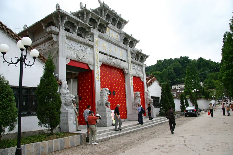 Mt. Jiu Hua Sacred Buddhist Mountain