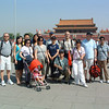 Our intrepid CTSI tour group in Tiananmen Square with Tiananmen Gate in background - entrance to the Forbidden City