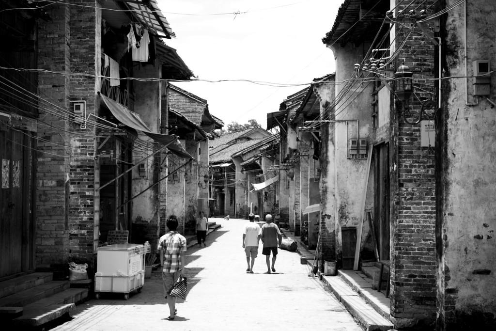 Yanghuo Street Scene