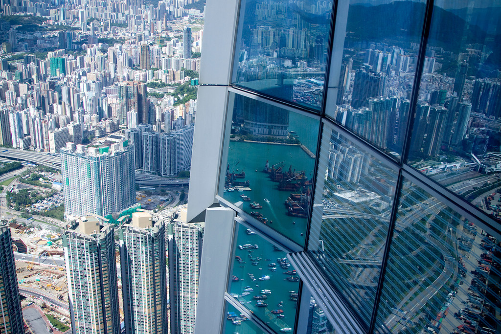 Sky100 Reflections of Kowloon