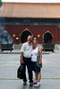Back with Serena in Beijing who took this picture. This was our next to last day.