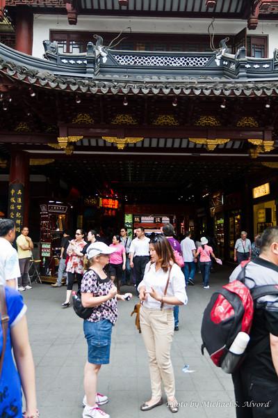 Roe and Hellen in Shanghi