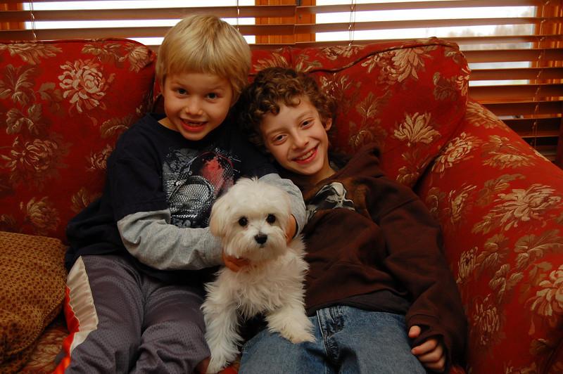 Jacob, Nathan and Rosco