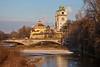 River Isar near the Deutsche Museum, Munich