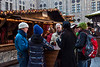 There were lots of little tables like this for people to enjoy their glühwein and bratwurst