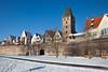 Ulm old city wall