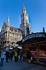 Christmas market at Marienplatz, Munich