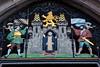 Decoration on a gate at Marienplatz, Munich