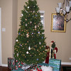 Suzanne and Josh's house decorated for Christmas and Logan's first birthday party 12-11-05.