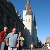Mike, John and Judy welcome you to Jackson Square in New Orleans.........