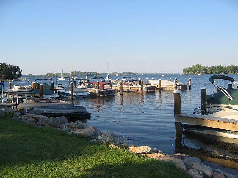 Boats on Lake Minnetonka
