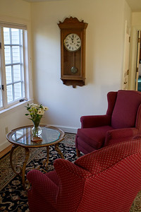 One of the upstairs sitting spaces.  The rooms are all upstairs with a private entrance and stairway.