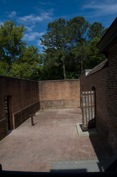 Gaol (Jail) at Colonial Williamsburg