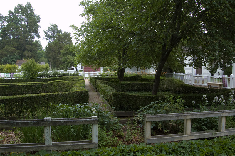 Gardens at Colonial Williamsburg