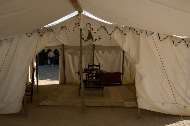 Continental Army camp at Yorktown Victory Center