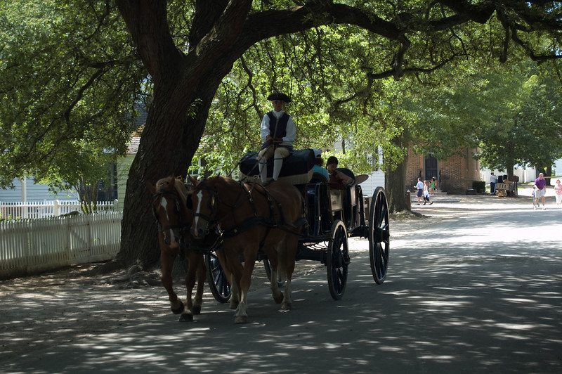 Carriage Tour at Colonial Williamsburg