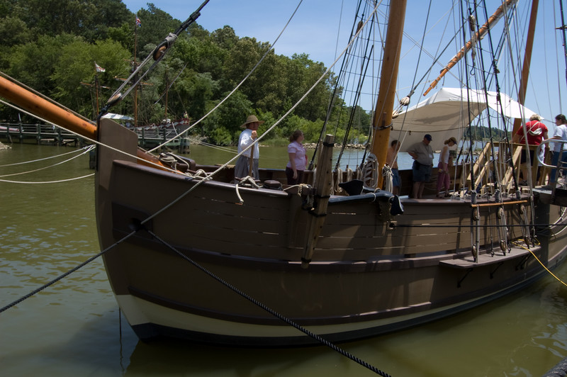 Ship Discovery at Jamestown Settlement