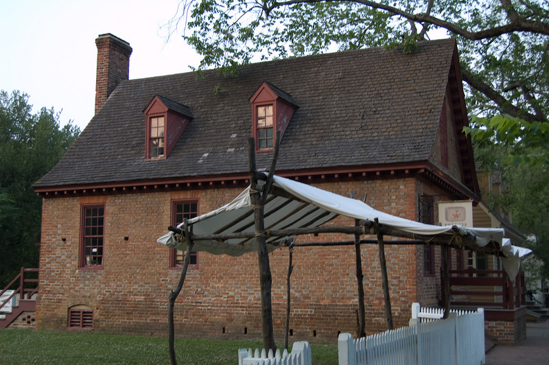 Duke of Gloucester Street at Colonial Williamsburg