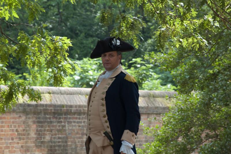 George Washington intrerpreter at Colonial Williamsburg