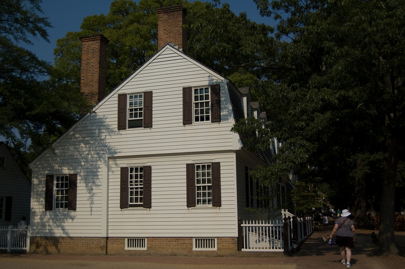 Duke of Gloucester Street at Colonial Williamsburg