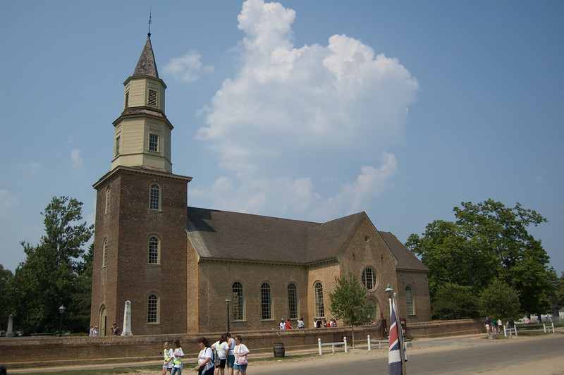 Bruton Parish Church at Colonial Williamsburg