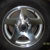 16 inch Aluminum wheels.