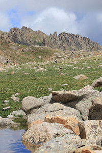 July 9, 2012 (Mount Evans [Summit Lake] / Idaho Springs, Clear Creek County, Colorado) -- Scenery
