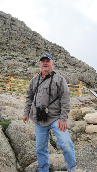 July 9, 2012 (Mount Evans [Summit Lake trail] / Idaho Springs, Clear Creek County, Colorado) -- David