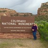 MaryAnne @ Colorado National Monument (West Entrance)