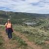 MaryAnne on Avon Overlook Trail