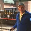 David on Train @ Silver Plume Depot of Georgetown Loop Railroad