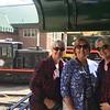 MaryAnne, Pat Crowley, and Kathy Fleck on Train @ Silver Plume Depot of Georgetown Loop Railroad