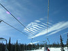 """A """"rck of ribs"""" cloud formation."""