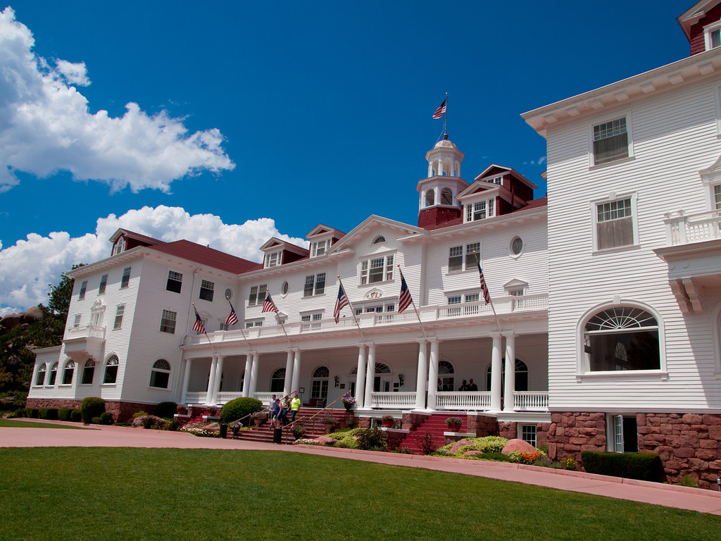 The Stanley Hotel inspired Stephen King to write the Shining.