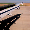 7.19.11<br /> <br /> wing view...<br /> <br /> landing at Denver International Airport...