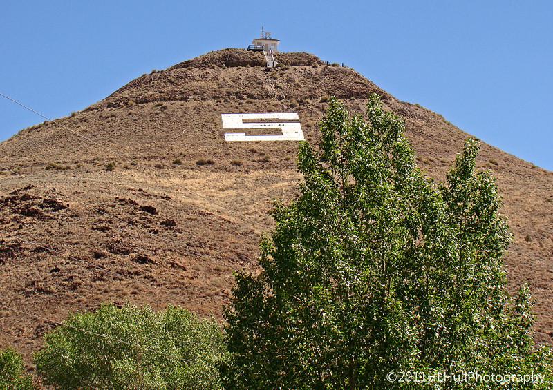 """S"" Mountain, formerly Tenderfoot Mountain, Salida, Colorado"