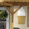 an ice cream place