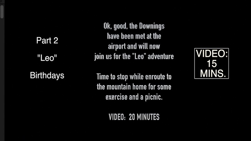 VIDEO:  10 mins. ~~ Mountain Home, August 3 & 4, 2006
