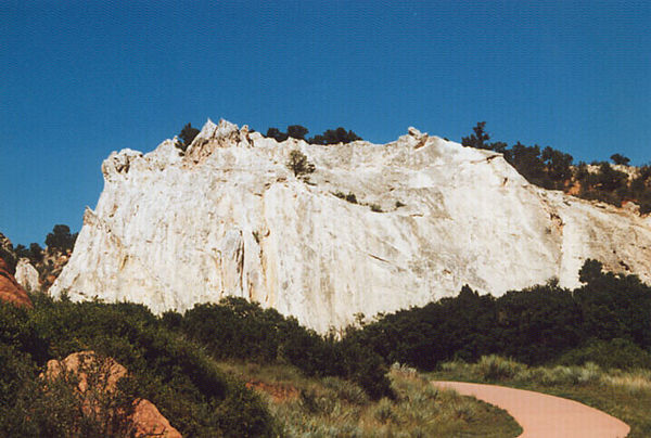 White Rock.<br /> Hiking in the Garden of the Gods.