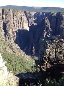 June 6, 2014 - (Black Canyon of the Gunnison National Park [visitor center overlook] / Montrose, Montrose County, Colorado)