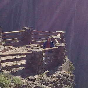 June 6, 2014 - (Black Canyon of the Gunnison National Park [visitor center overlook] / Montrose, Montrose County, Colorado) -- David