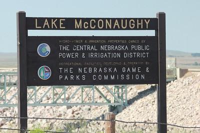 Lake McConaughy SRA Signage