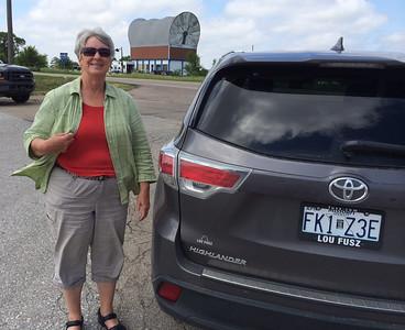 MaryAnne & Conestoga Wagon @ Milforn, Nebraska