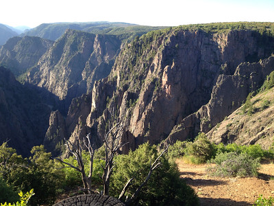 June 6, 2014 - (Black Canyon of the Gunnison National Park [Tomichi Lookout] / Montrose, Montrose County, Colorado)