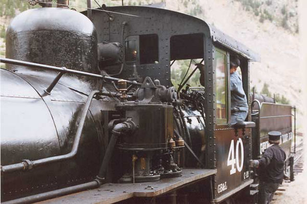 Old No. 40 at the Georgetown Loop Railway.