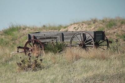 Old wagon @ Lake McConaughy SRA [Visitor Center]